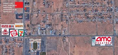 Apple Valley Residential Lots & Land For Sale: Navajo Avenue