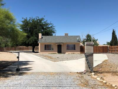 Adelanto Single Family Home For Sale: 18622 Bellflower Street