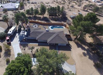 Apple Valley CA Single Family Home For Sale: $299,500