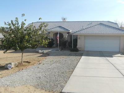 Hesperia Single Family Home For Sale: 18051 Birch Street