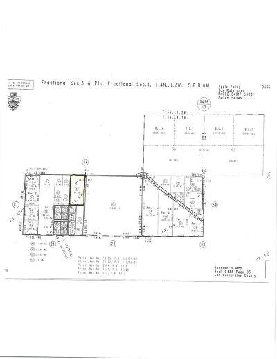 San Bernardino County Residential Lots & Land For Sale: Las Tunas Drive