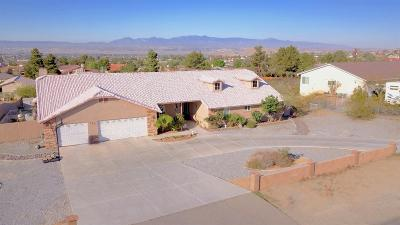 Apple Valley Single Family Home For Sale: 18985 Kaibab Road