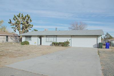 Apple Valley Single Family Home For Sale: 12731 Pocono Road