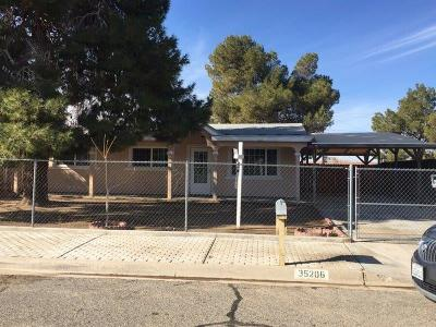 Barstow Single Family Home For Sale: 35206 Maple Street