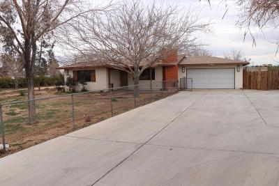 Hesperia Single Family Home For Sale: 11165 A Avenue