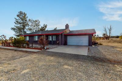 Pinon Hills Single Family Home For Sale: 11671 Mountain Road