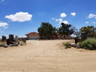 Phelan CA Single Family Home For Sale: $290,000