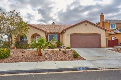 Victorville Single Family Home For Sale: 13765 Dove Court