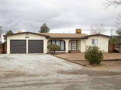 Apple Valley CA Single Family Home For Sale: $185,000