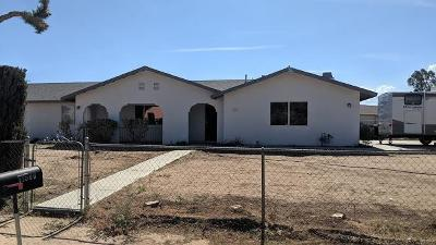 Apple Valley CA Single Family Home For Sale: $235,000