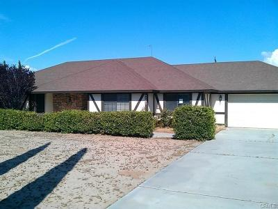 Hesperia Single Family Home For Sale: 9261 11th Avenue
