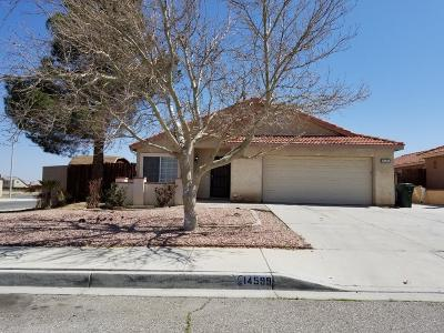 Adelanto Single Family Home For Sale: 14599 Agave Way