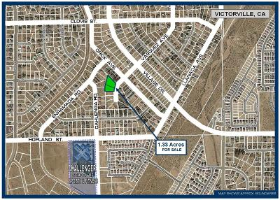 Victorville Residential Lots & Land For Sale: Vasquez Avenue