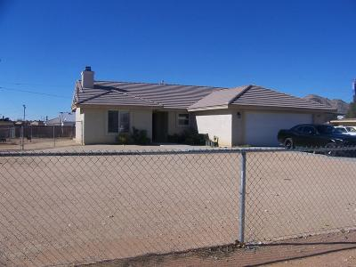 Apple Valley CA Single Family Home For Sale: $222,000