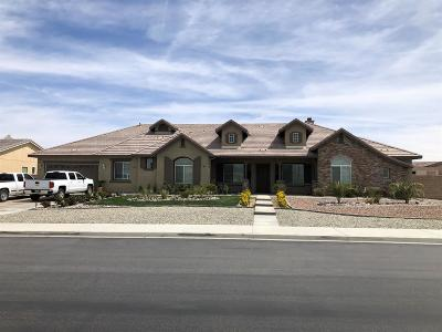 Apple Valley Single Family Home For Sale: 12211 Braeburn Road