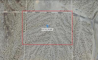 San Bernardino County Residential Lots & Land For Sale: Sidewinder Road