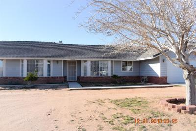 Apple Valley Single Family Home For Sale: 15464 Erie Road