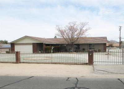 Apple Valley Single Family Home For Sale: 14861 Riverside Drive