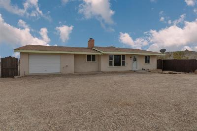 Barstow Single Family Home For Sale: 30926 Soapmine Road