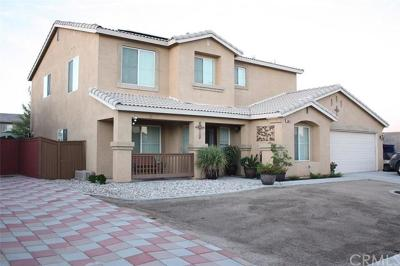 Victorville Single Family Home For Sale: 13858 Rafael Way