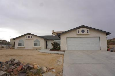 Barstow Single Family Home For Sale: 27945 Azurite Road