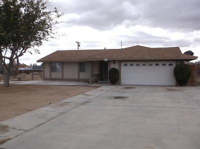 Victorville Single Family Home For Sale: 14609 La Brissa Road