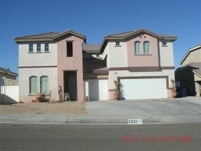 Barstow Single Family Home For Sale: 2220 Ruby Drive