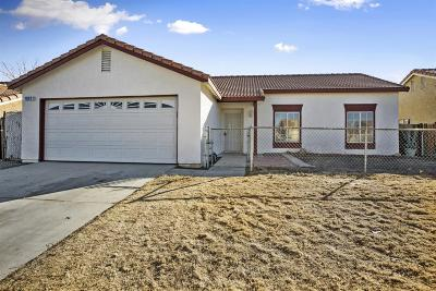 Adelanto Single Family Home For Sale: 10831 Tolliver Street