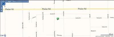 Phelan Residential Lots & Land For Sale: Buttonwood Street