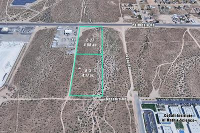 Victorville CA Commercial Lots & Land For Sale: $550,000