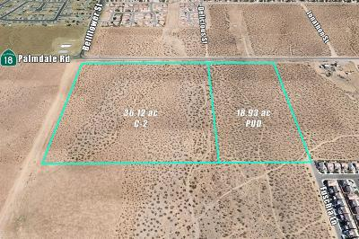 Victorville CA Commercial Lots & Land For Sale: $3,900,000