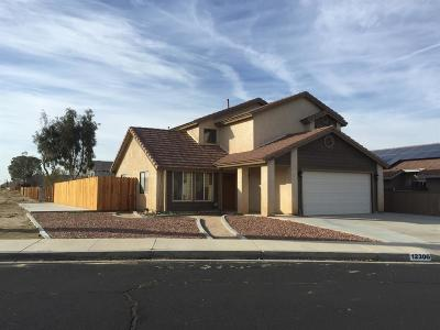 Victorville CA Single Family Home For Sale: $249,500