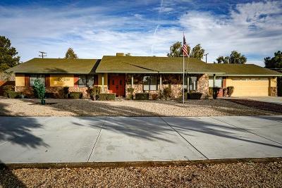 Apple Valley Single Family Home For Sale: 15215 Pirinda Road