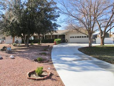 Hesperia Single Family Home For Sale: 18011 Sycamore Street