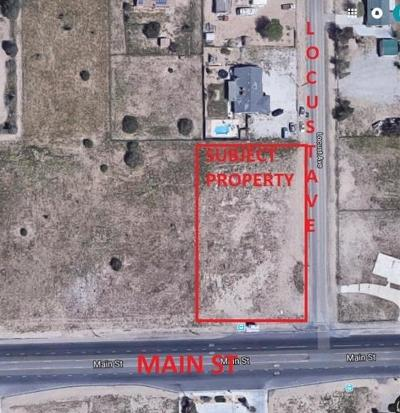 Commercial Lots & Land For Sale: Main Street