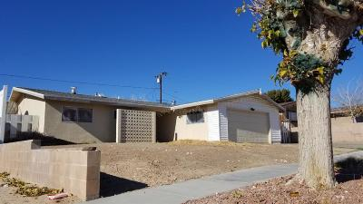 Barstow Single Family Home For Sale: 36930 Hayward Avenue