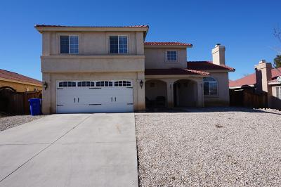 Adelanto Single Family Home For Sale: 15324 Kearny Drive