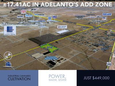 Adelanto Commercial Lots & Land For Sale: Adelanto Road