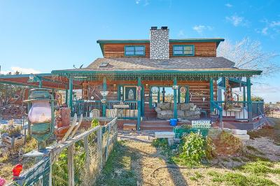 Pinon Hills Single Family Home For Sale: 9825 Melody Lane