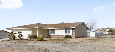 Apple Valley CA Single Family Home For Sale: $219,900