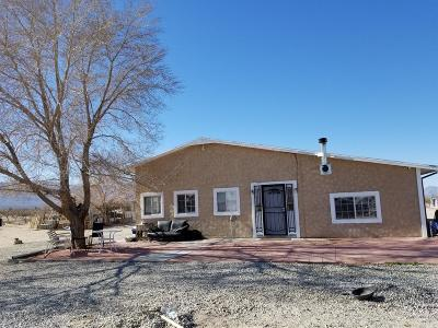 Lucerne Valley Single Family Home For Sale: 10424 Santa Fe Fire Road
