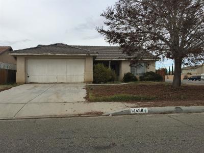 Adelanto Single Family Home For Sale: 14488 Clemson Court