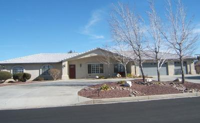 Apple Valley Single Family Home For Sale: 12815 Quail Summit Road