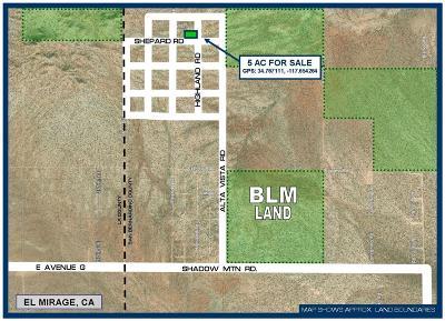 El Mirage Residential Lots & Land For Sale: Shepard Road