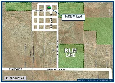 El Mirage Residential Lots & Land For Sale: Highland Road