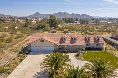 Apple Valley Single Family Home For Sale: 16041 Monache Road