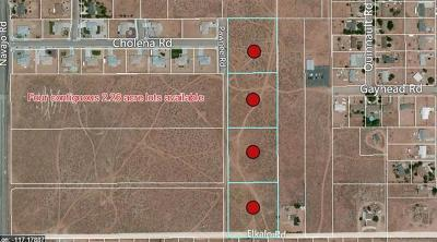 Apple Valley CA Residential Lots & Land For Sale: $125,000