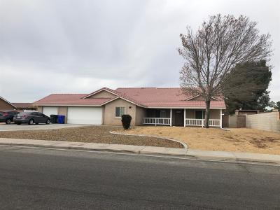 Apple Valley Single Family Home For Sale: 13860 Ivanpah Road