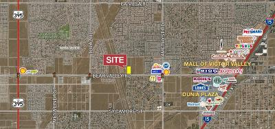 Victorville CA Commercial Lots & Land For Sale: $1,075,000