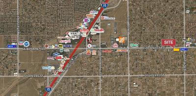 Hesperia CA Commercial Lots & Land For Sale: $1,500,000